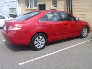 Toyota Camry repair after