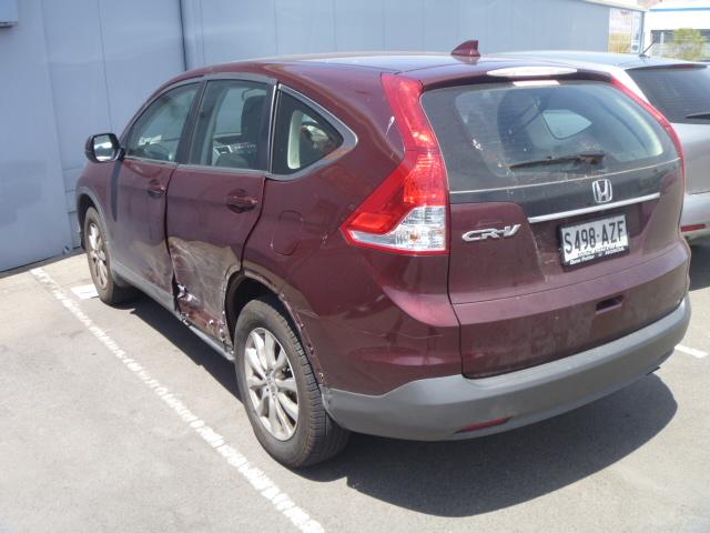 Honda CRV Before