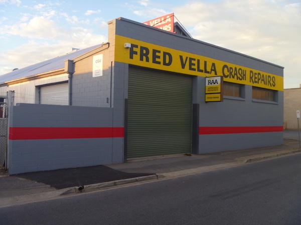 Fred Vella Crash premises